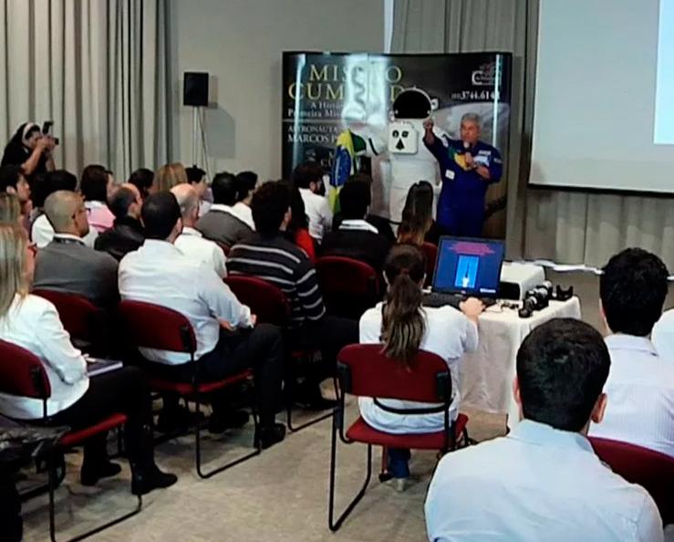 CCEE – Palestra com Marcos Pontes